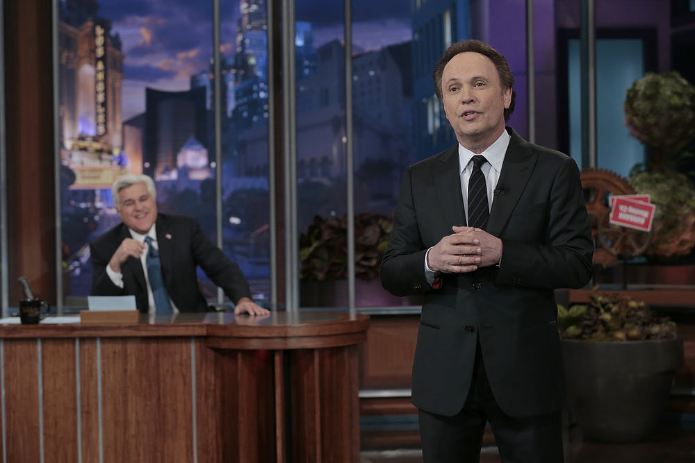 Billy Crystal spoke to the audience.