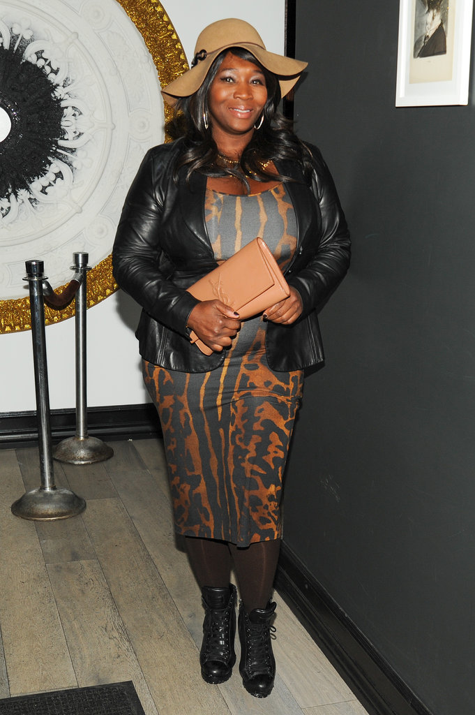 Bevy Smith at InStyle's Fashion Week kickoff party.