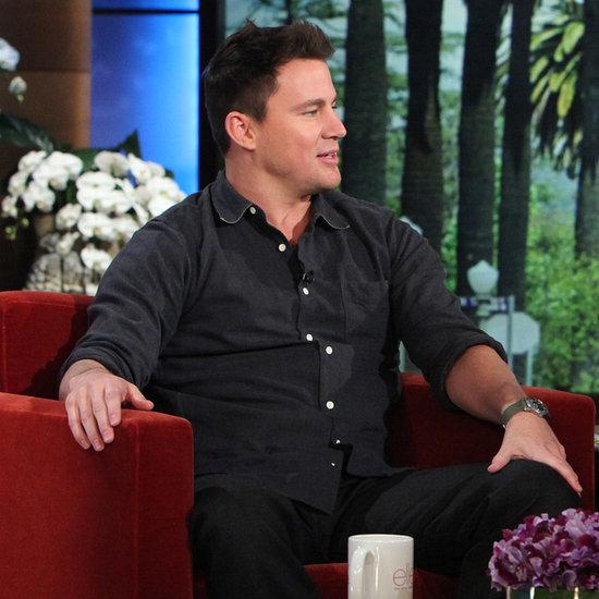 Channing Tatum on The Ellen Show February 2014
