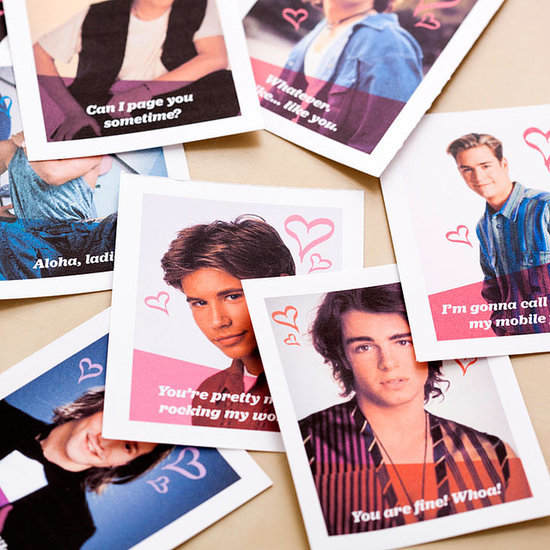 DIY '90s Heartthrobs Valentines