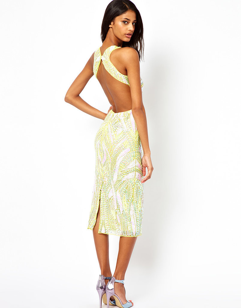 ASOS Backless Sequin Midi Dress ($148, originally $333)