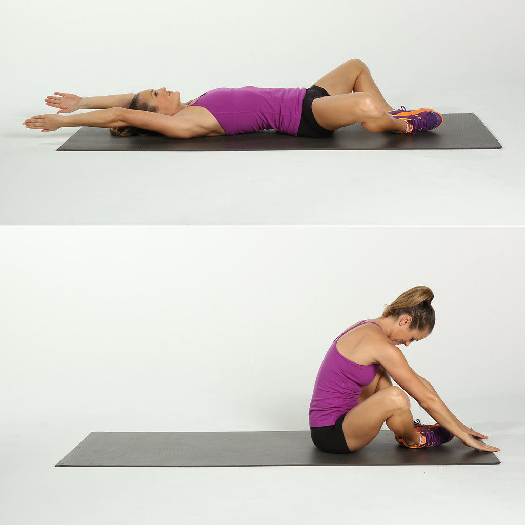 Diamond Sit-Up  V Sits Tone It Up