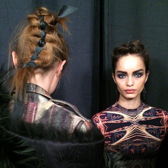 Celebrity, Model Instagram Photos From New York Fashion Week