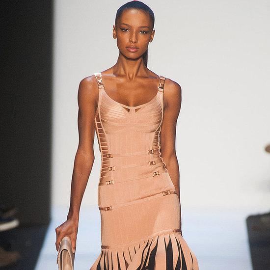 Herve Leger Fall 2014 Runway Show | New York Fashion Week
