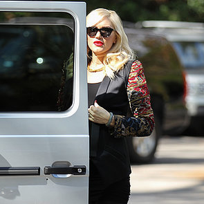 Celebrities at Gwen Stefani's Baby Shower Pictures