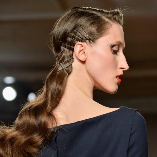 New York Fashion Week Zac Posen Fall 2014 Runway Beauty