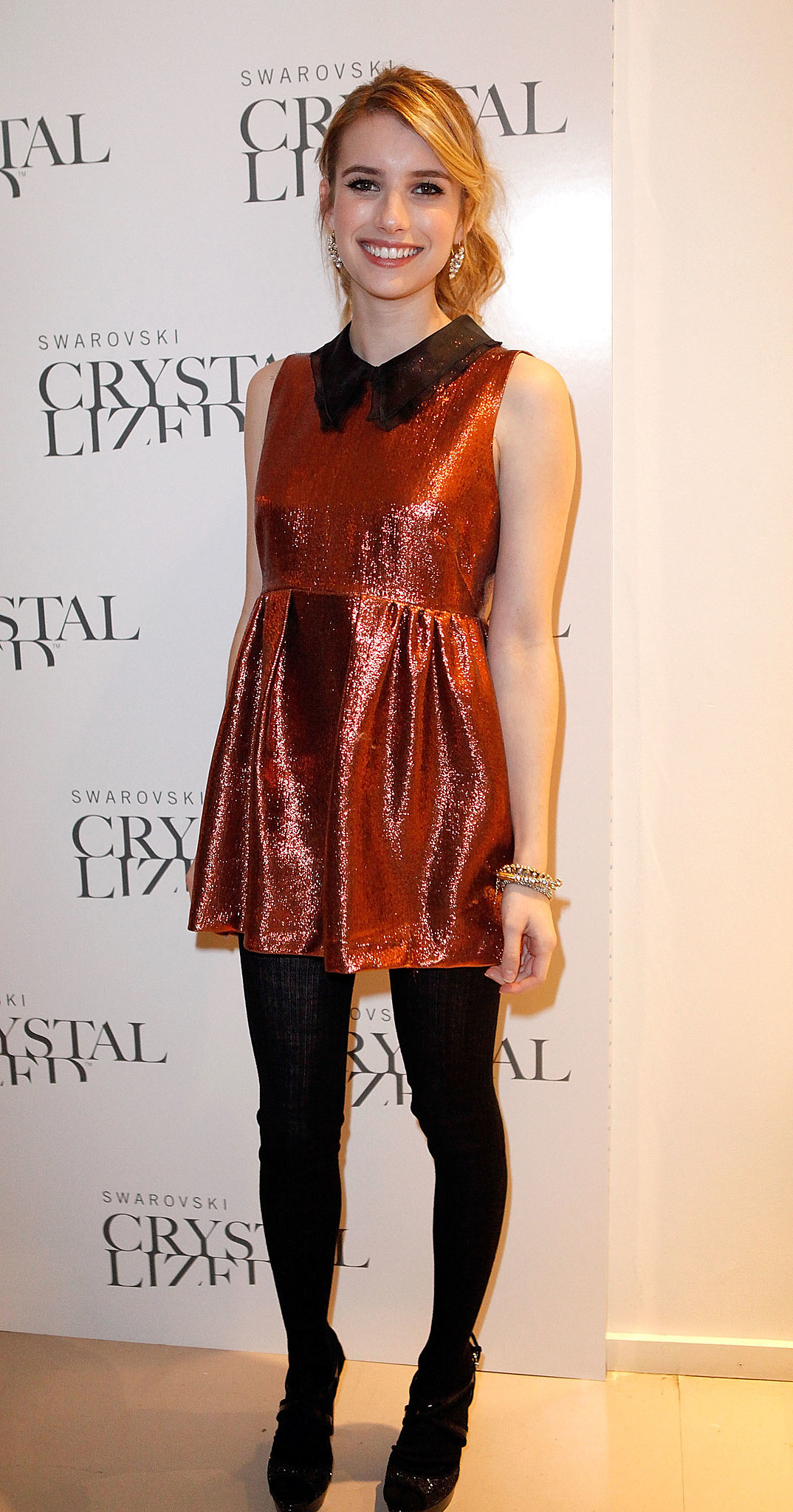 Emma looked every bit the fashion darling in Miu Miu for an event in October 2011.