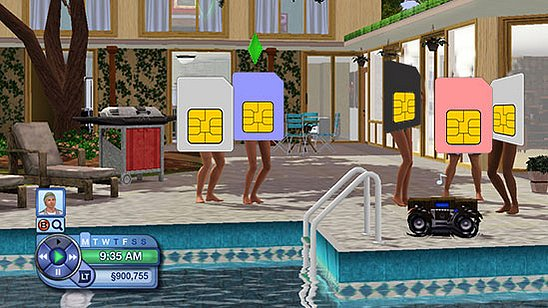 The Sims Meet Their . . . Sims