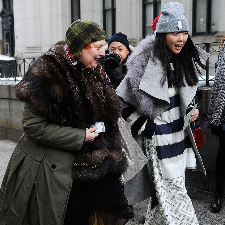 The Fur Is Flying at New York Fashion Week