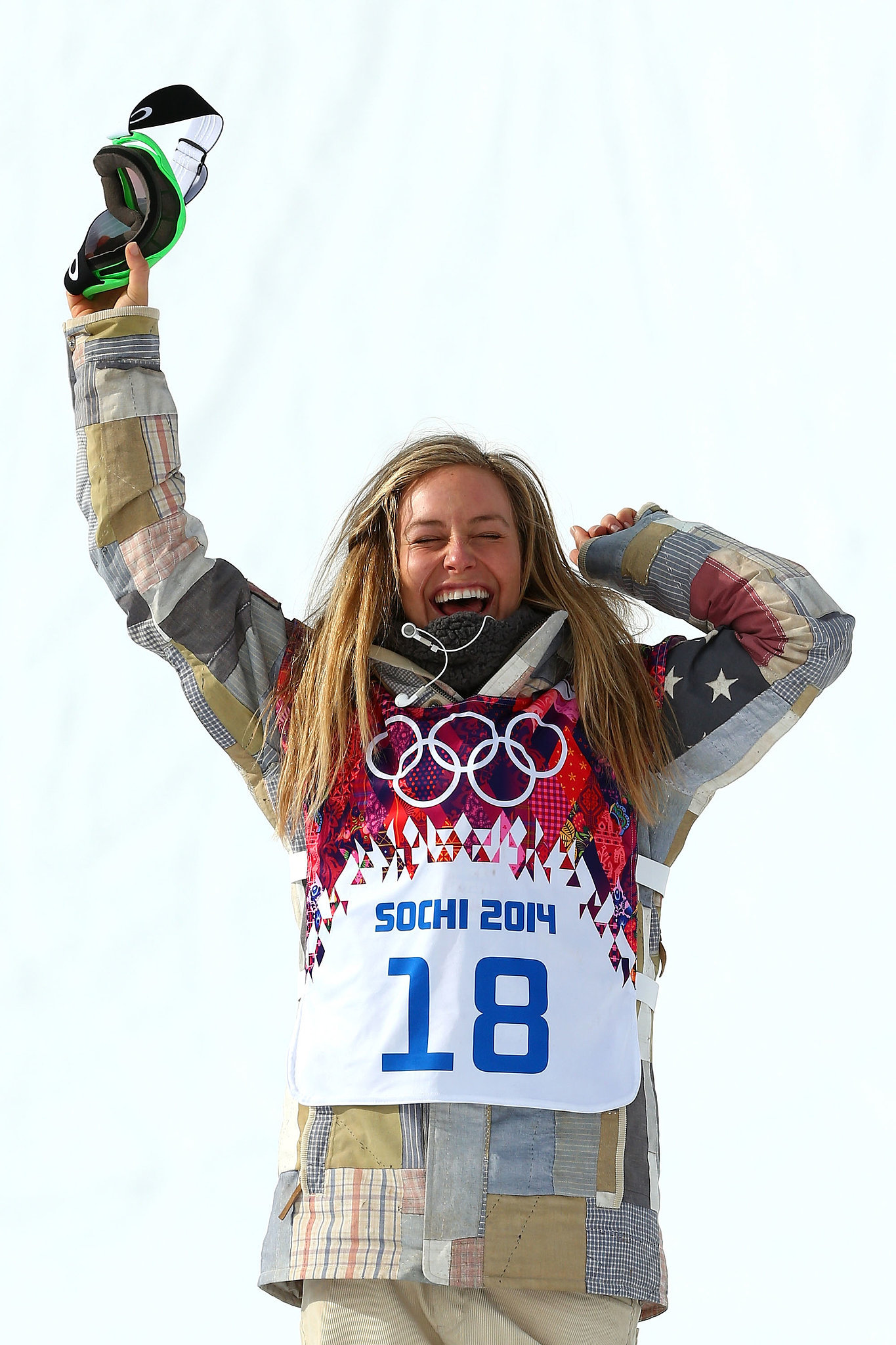 Team USA's Jamie Anderson cheered after winning the gold ...