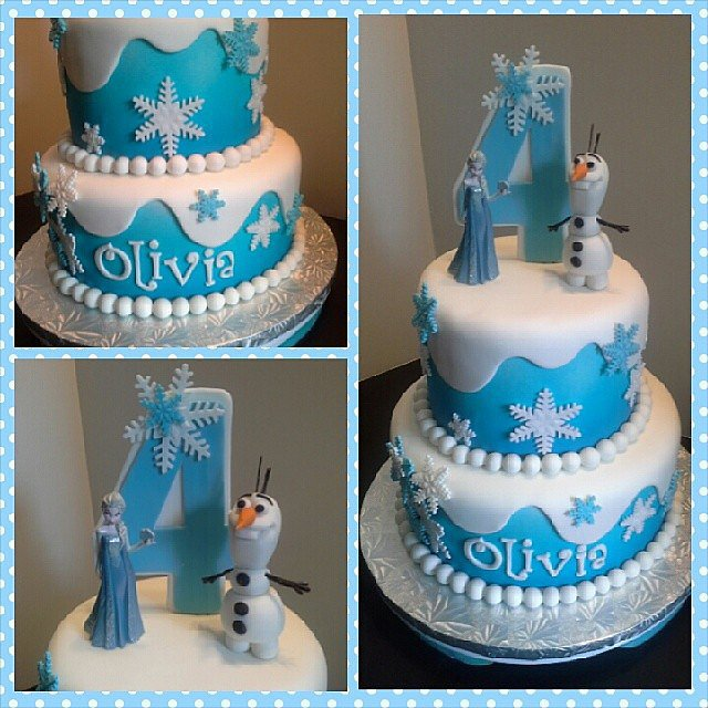 Cake let it bake 16 droolworthy cakes inspired by disney s frozen