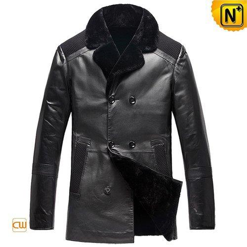 Mens Winter Sheepskin Shearling Coats CW877900