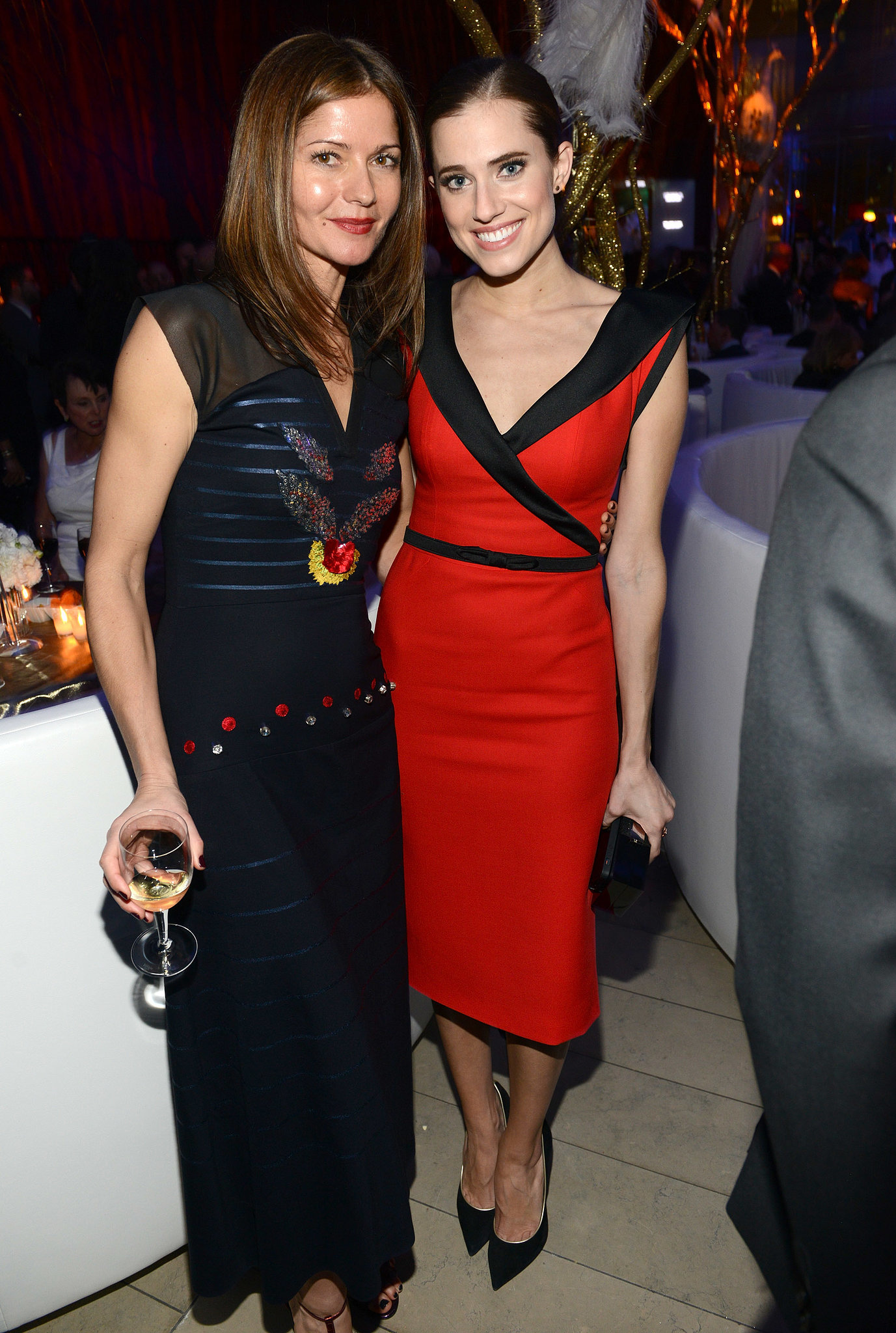 Jill Hennessy and Allison Williams