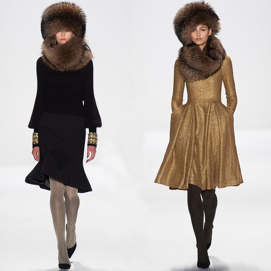 Badgley Mischka Fall 2014 Runway Show | NY Fashion Week