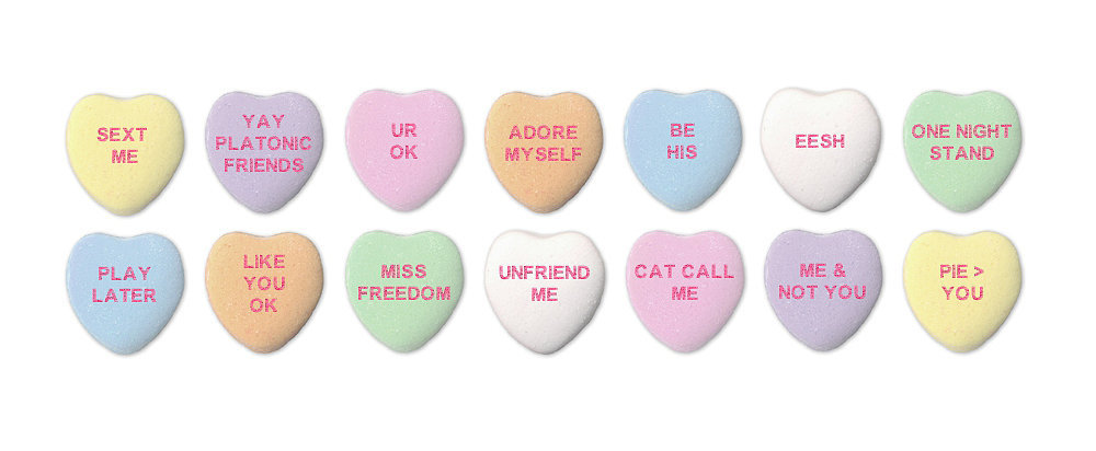 Make Your Own Rejected Candy Hearts