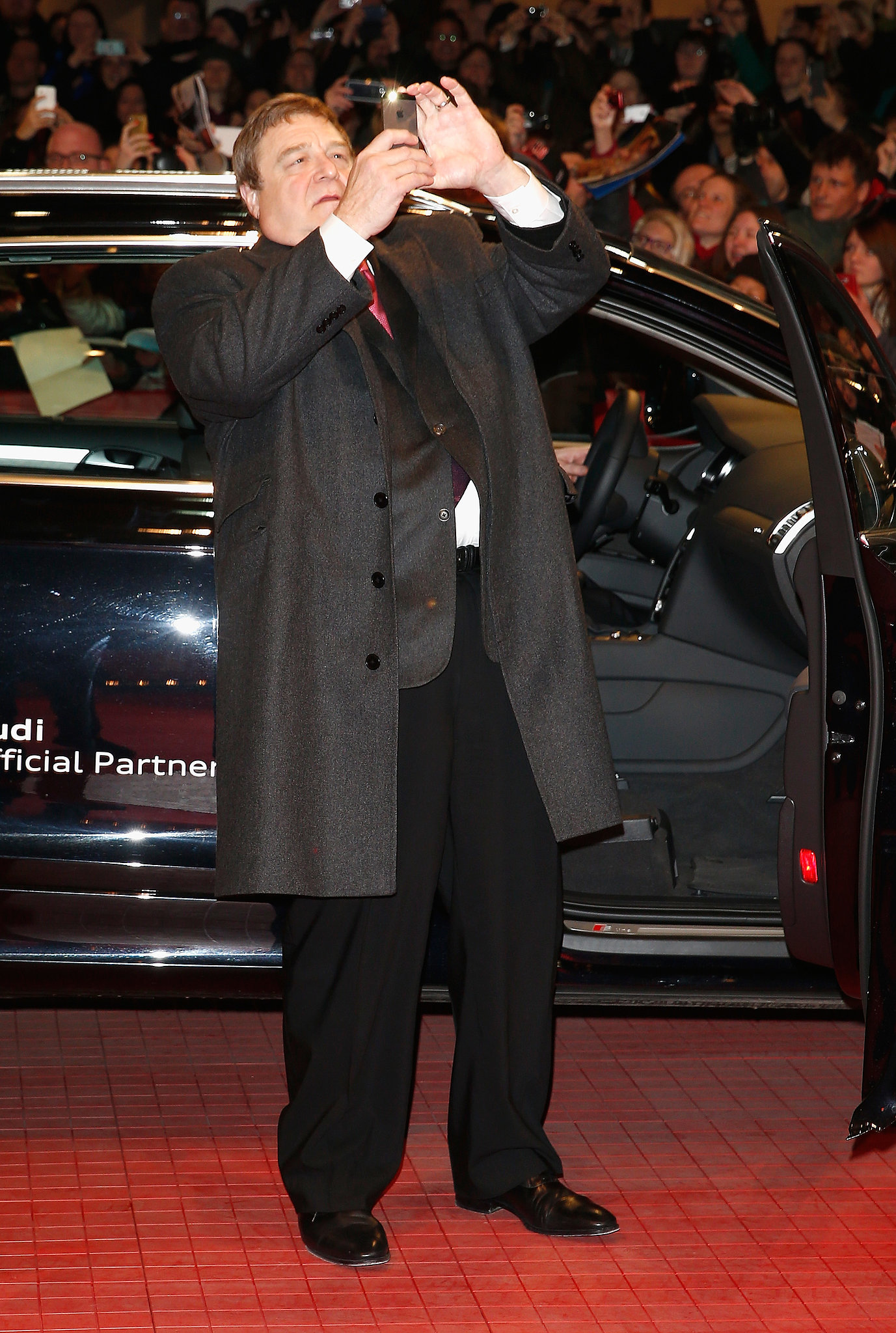 And at the premiere that night, John snapped lots of photos.