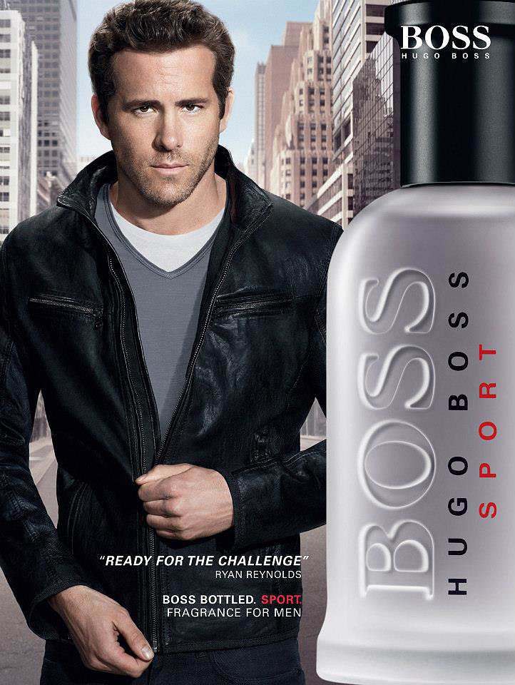 ryan reynolds for hugo boss michael bubl and 26 other. Black Bedroom Furniture Sets. Home Design Ideas