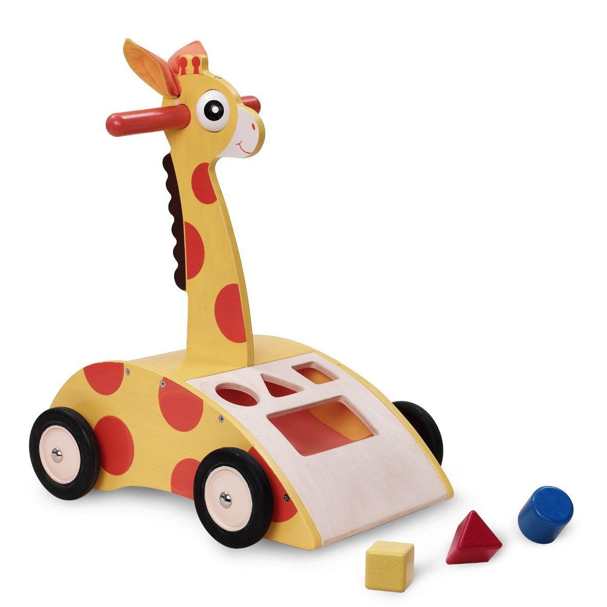 Wonderworld Giraffe Walker 'N Shape Sorter