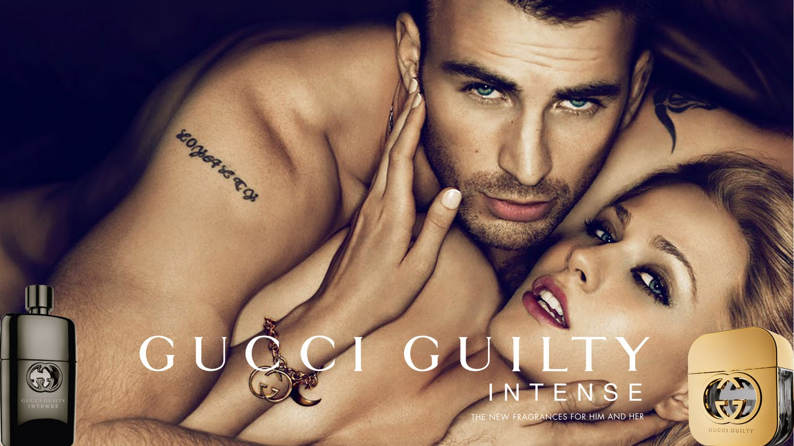 Chris Evans For Gucci