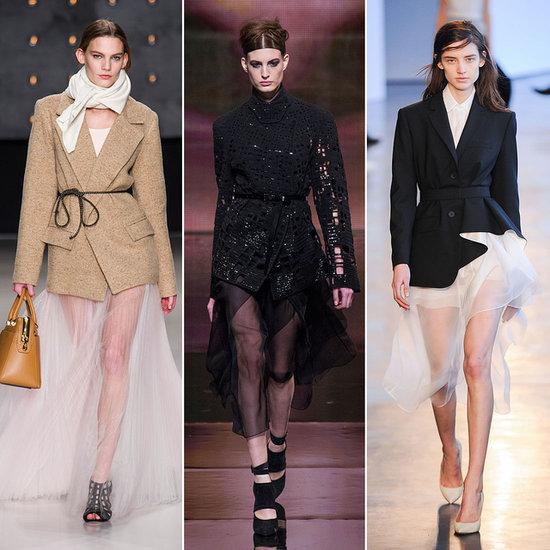 Sheer Skirt Trend Fall 2014