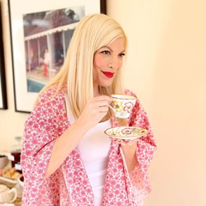 Tori Spelling Valentine's Day Tea Party