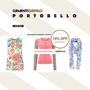Portobello by Clements Ribeiro Discount Code