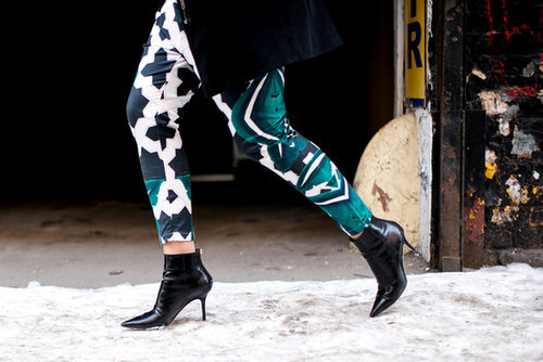A bootie like this is a wardrobe staple.