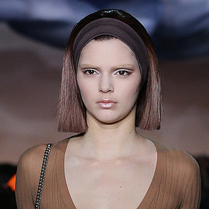 Kendall Jenner Wears Sheer at Marc Jacob's at Fashion Week