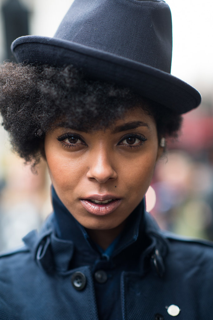 LFW Beauty Street Style Fall 2014