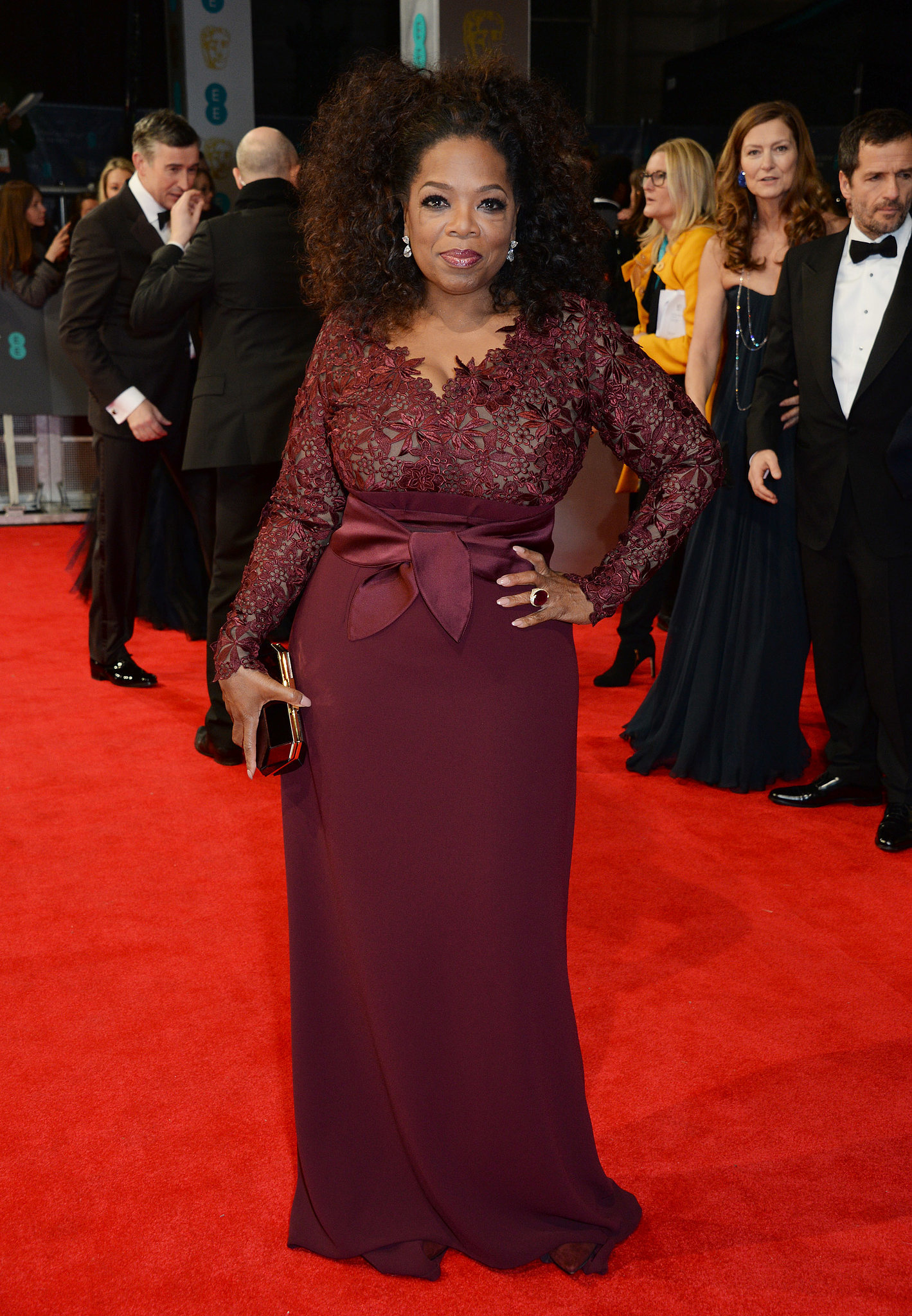 Oprah Winfrey at the 2014 BAFTA Awards. | A-Listers Trade ...