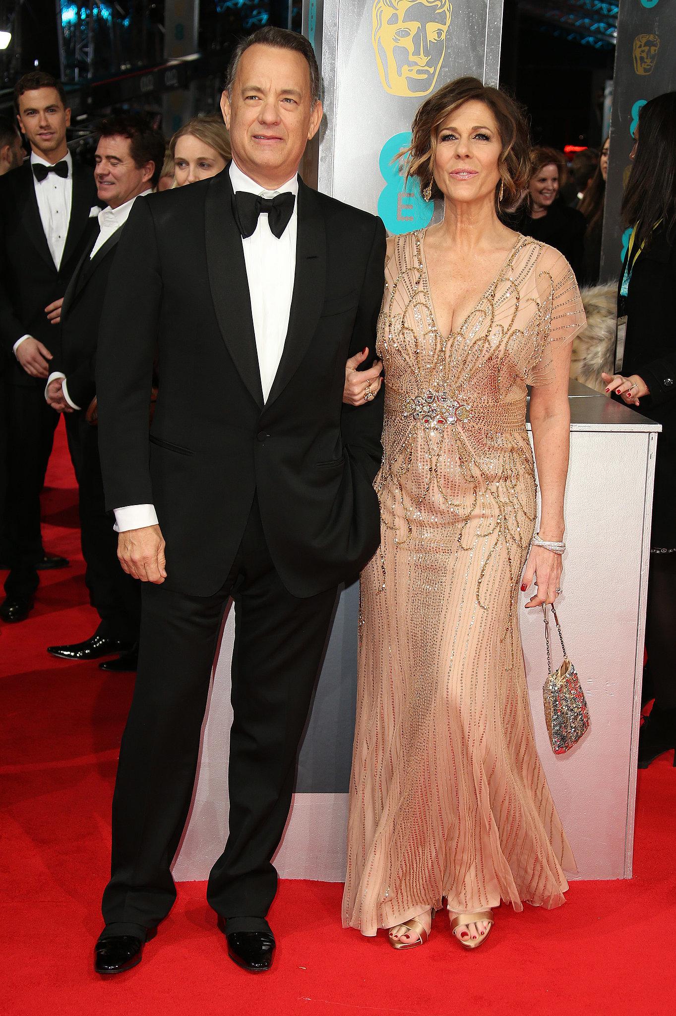 Tom Hanks and Rita Wilson at the 2014 BAFTA Awards. | A ...