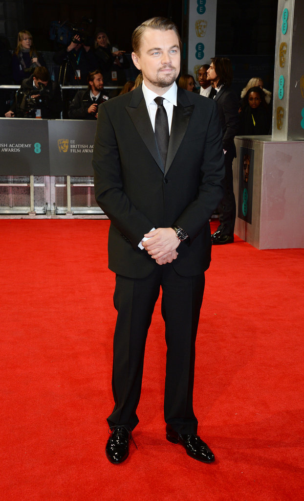 Leonardo DiCaprio at the 2014 BAFTA Awards.