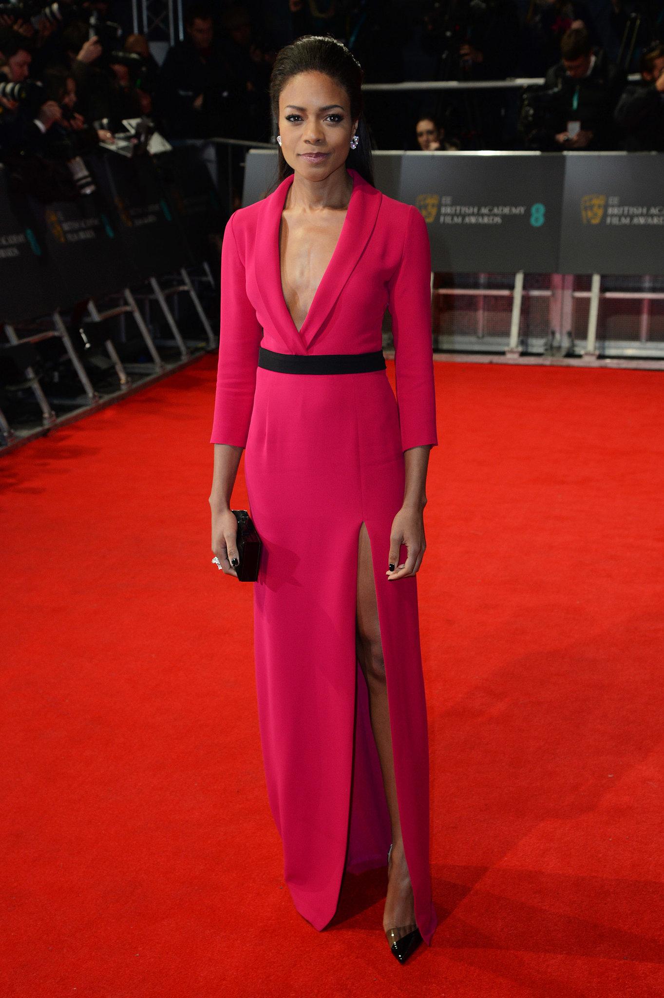 Naomie Harris at the 2014 BAFTA Awards.