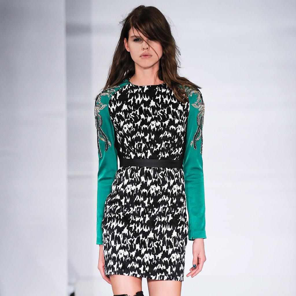 Antonio Berardi Fall 2014 Runway Show | London Fashion Week