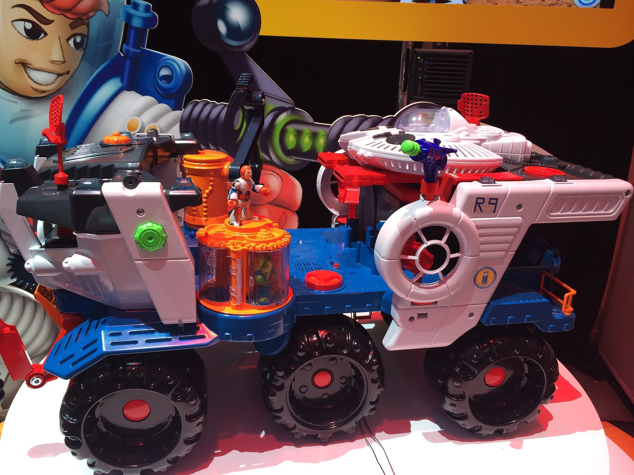 Imaginext Cosmic Chaos Super Nova Battle Rover