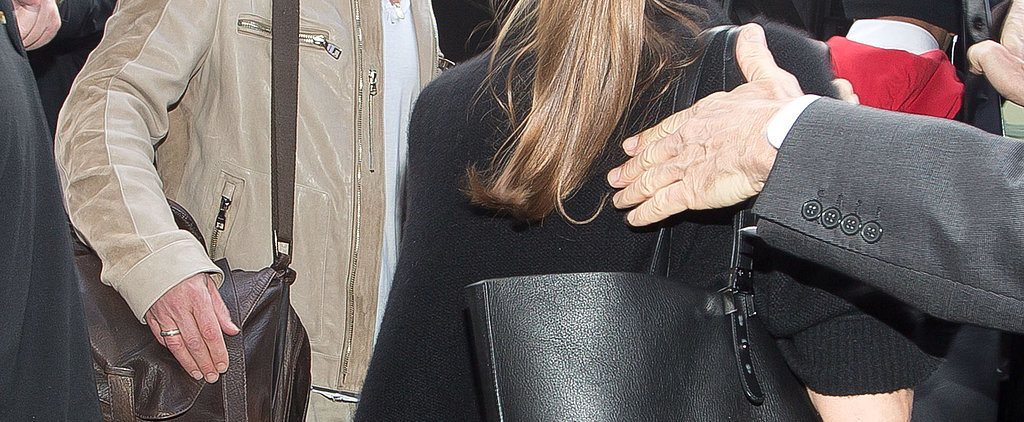 Angelina Jolie Just Switched Out Her Saint Laurent For WHAT?