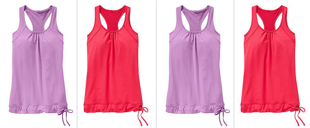 Flattering Fitness Tops That Hide a Belly