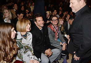 Man Crush Monday: Bradley Cooper Front Row With Anna Wintour
