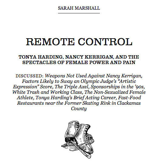 "Read ""Remote Control"" in Believer"