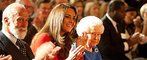 Kate Middleton Joins the A-List Party at the Queen's House