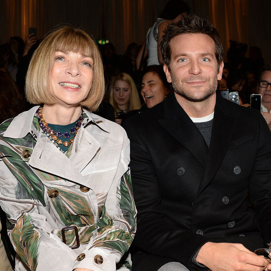 Bradley Cooper Front Row at Burberry London Fashion Week