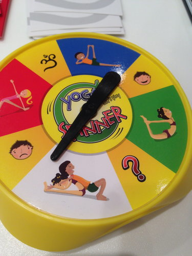Upside Down Games Yoga Spinner