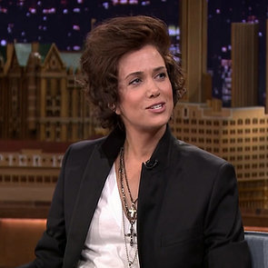 Kristen Wiig as Harry Styles on The Tonight Show
