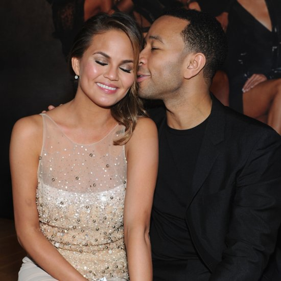 John Legend and Chrissy Teigen at Sports Illustrated Party