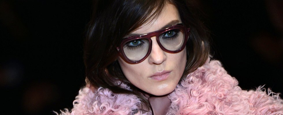 Lower Lashes Take Centre Stage at Gucci Autumn/Winter 2014