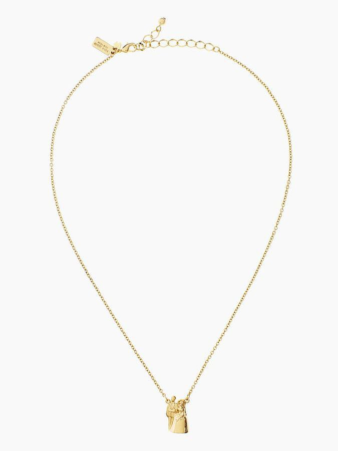Kate Spade Gold Cake Topper Necklace