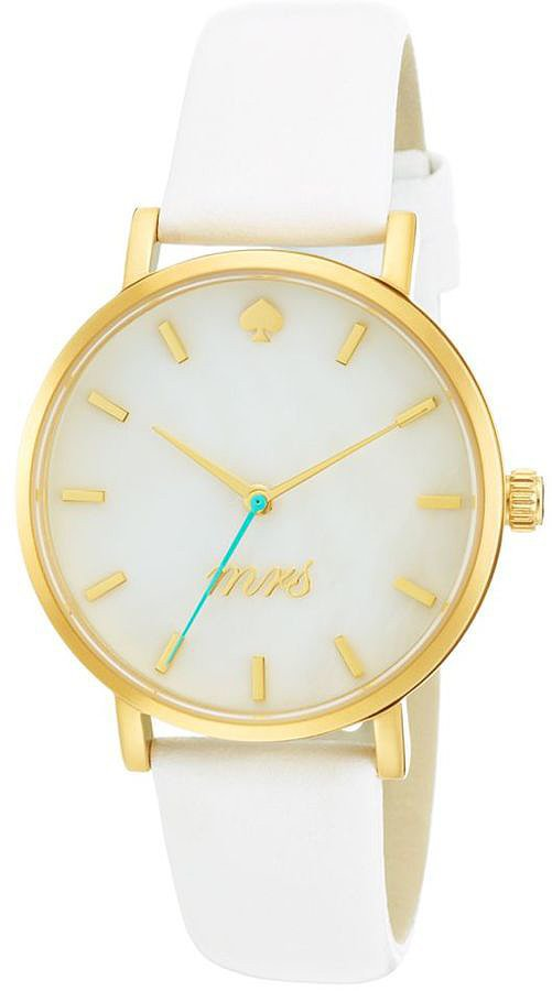 Kate Spade Mrs. White Watch