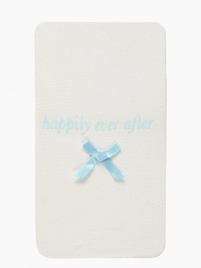 Kate Spade White Happily Ever After Tights