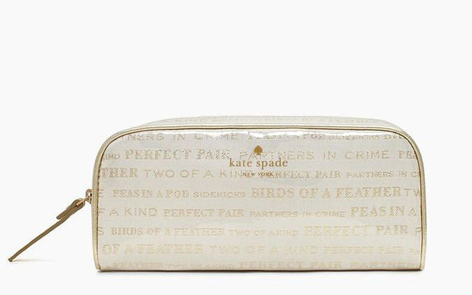 Kate Spade Henrietta Bridal Cosmetic Case