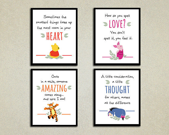 Winnie The Pooh Bedroom Reads 15 Book Themed Pieces Of
